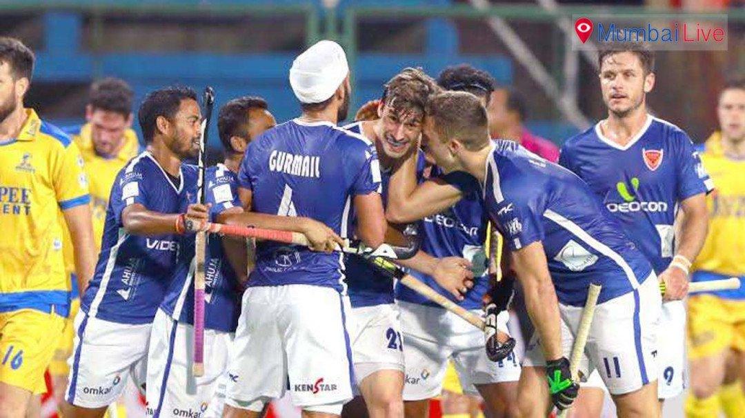 हॉकी इंडिया लीगमध्ये मुंबईचा दणदणीत विजय