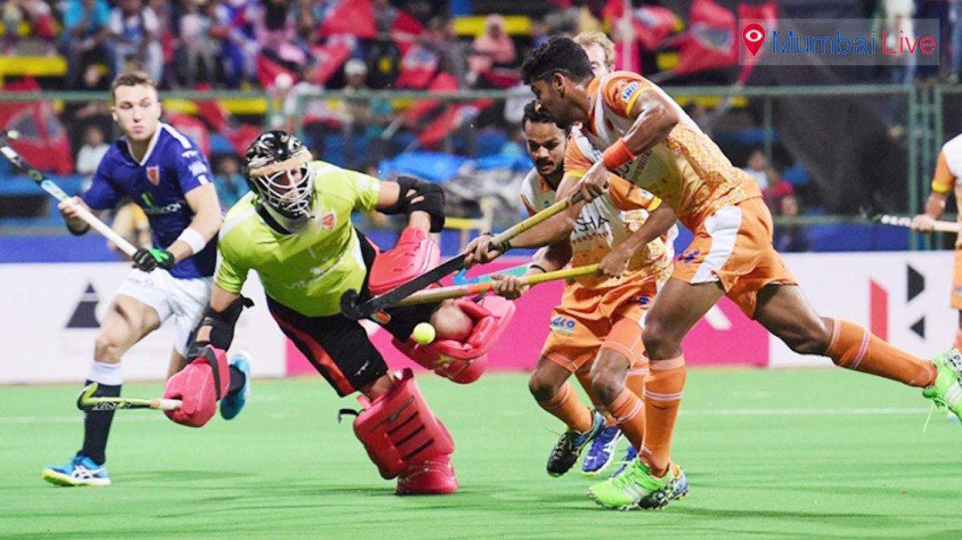 हॉकी इंडिया लीग में दबंग मुंबई की हार