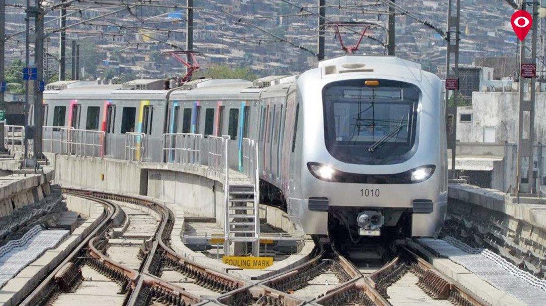 Metro breaks down during peak hour traffic