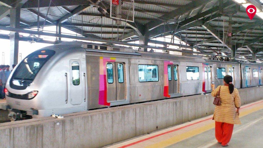 मेट्रो-1 की बढ़ी लोकप्रियता, कमाई और यात्री दोनों बढ़े