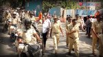 Mulund police hold flag march to inspire voter confidence