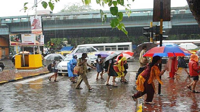 Mumbai Rains: moderate rainfall clocked; monsoon pullout delayed