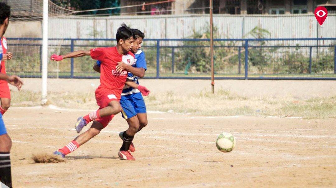 फुटबॉल सामन्यात मुंबई वॉरीर्यसचा विजय