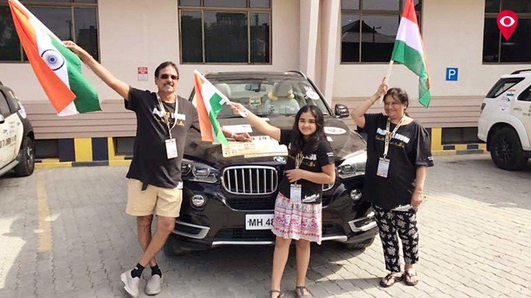 मुंबई के इस कपल ने पूरी की मुंबई से लंदन तक की रोड जर्नी