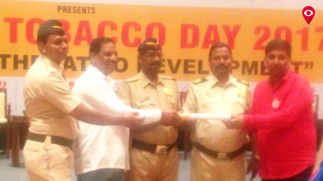 Mumbai Police says NO to Tobacco