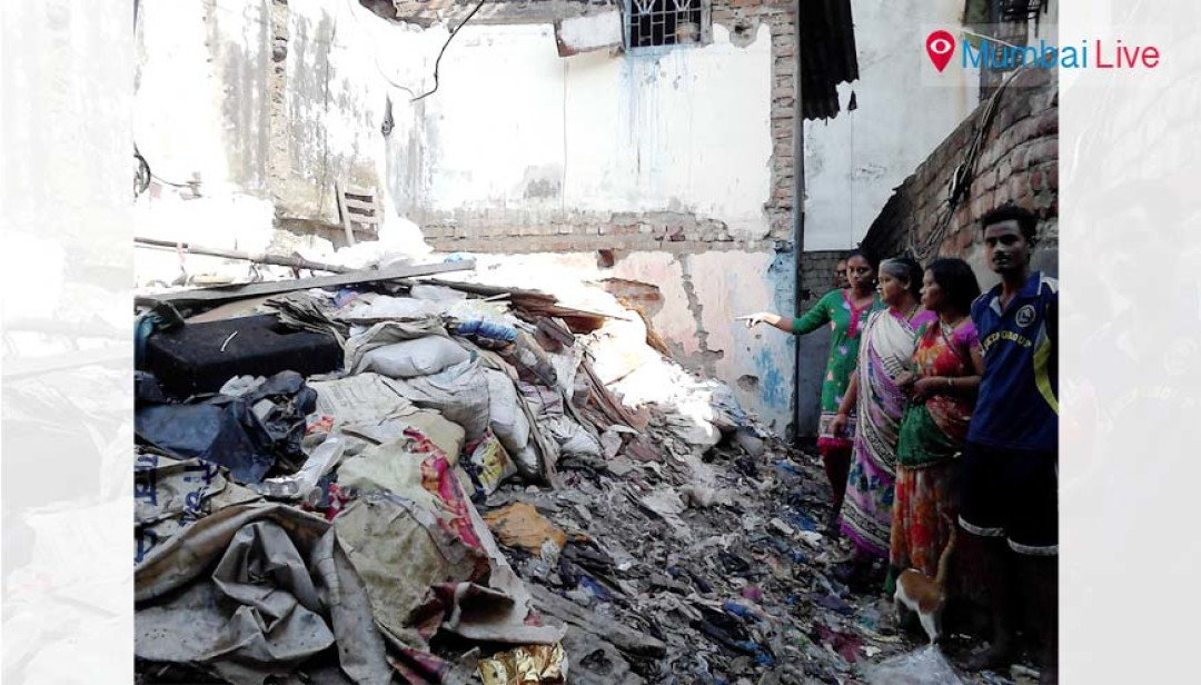 Shiv Ganga chawl or dumping ground?