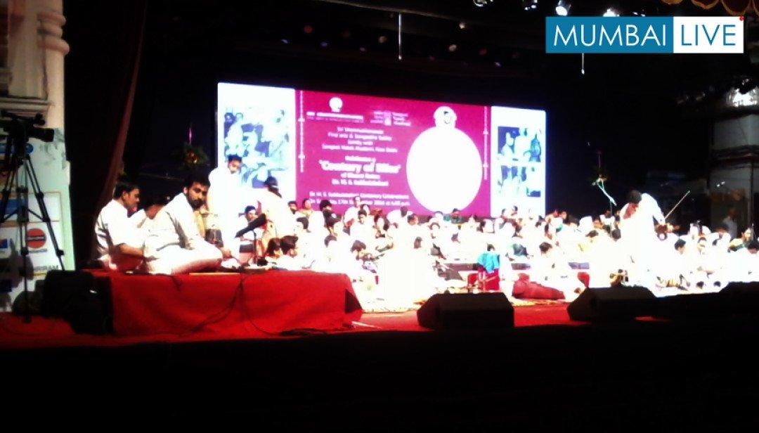 Mumbai musicians pay tribute to M S Subbulakshmi