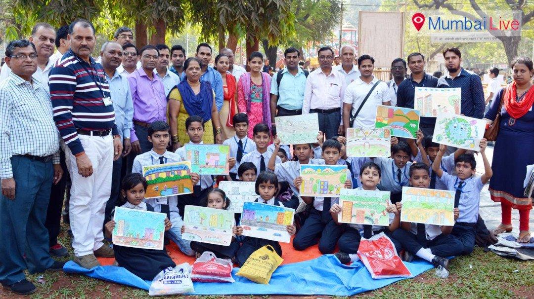'माझी मुंबई' चित्रकला स्पर्धेचे आयोजन