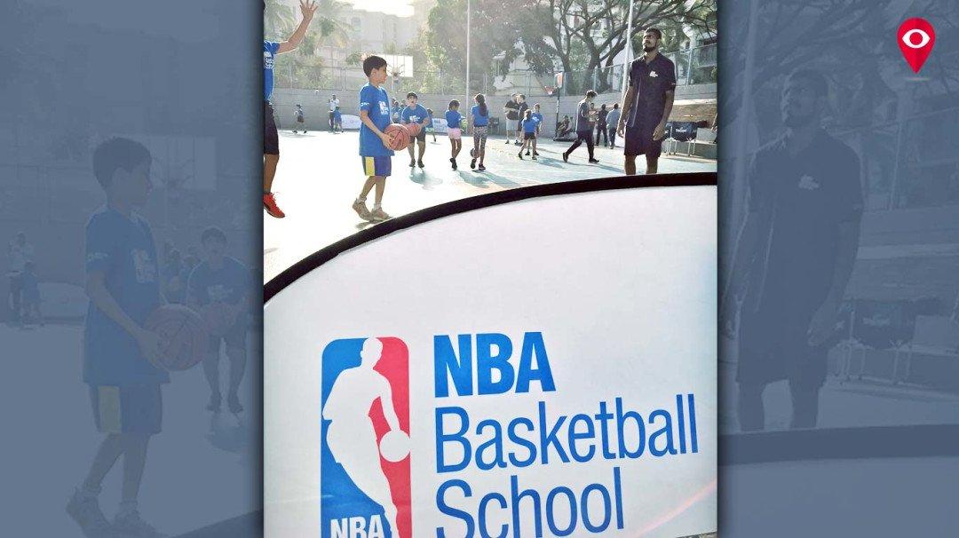 पहिल्यांदाच मुंबईत बास्केटबॉलचे प्रशिक्षण