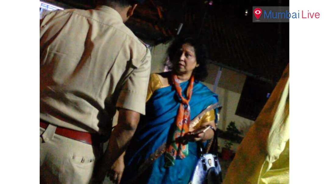 Corporator Jaya Tiwana claims she was pushed by woman constable