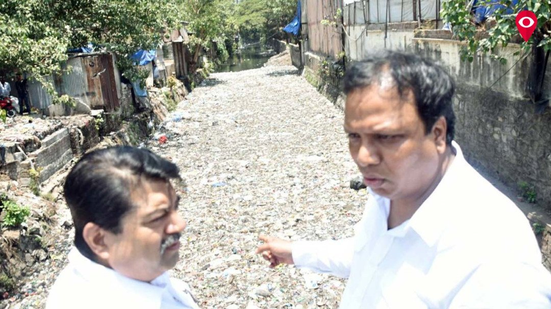 Ashish Shelar doubts scam in nullah cleaning, says BJP is not satisfied with work