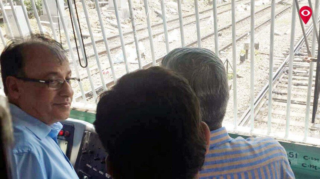 महापालिका आयुक्तांनी केली रेल्वे नाल्यांची पाहणी