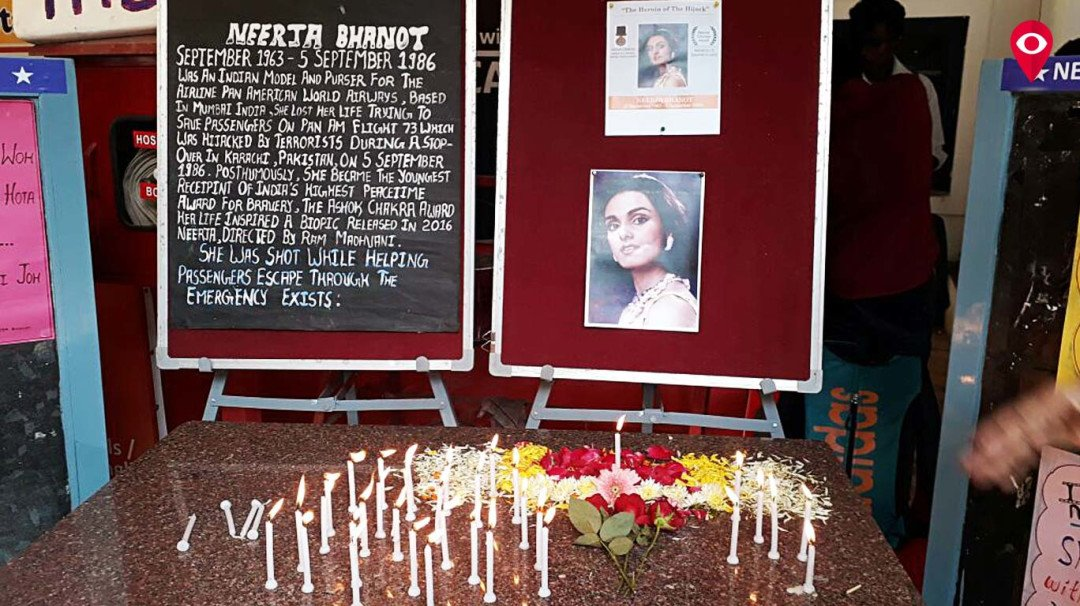Remembering Neerja's bravery on her birthday
