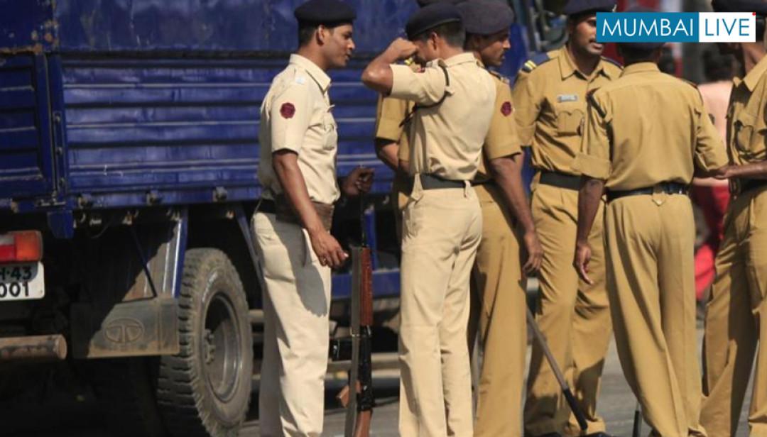 सड़क दुर्घटना में पुलिस घायल