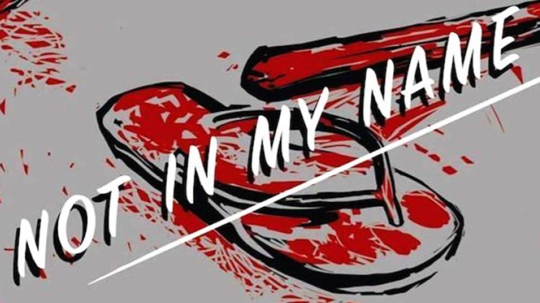 Not in my name: A silent protest against mob killings