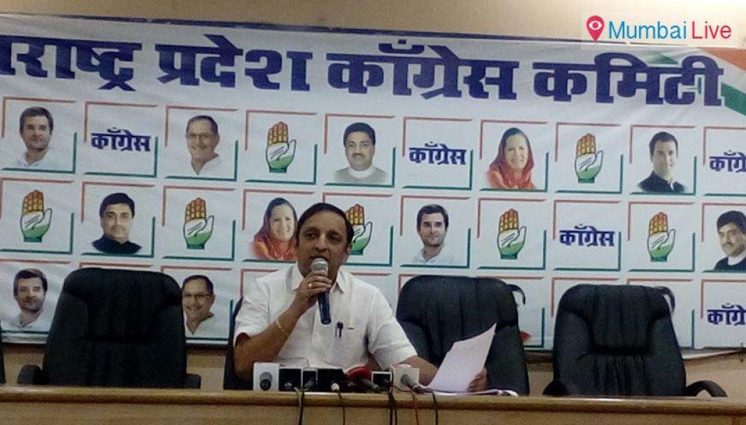 Sachin Sawant blames govt for Emergency scenario
