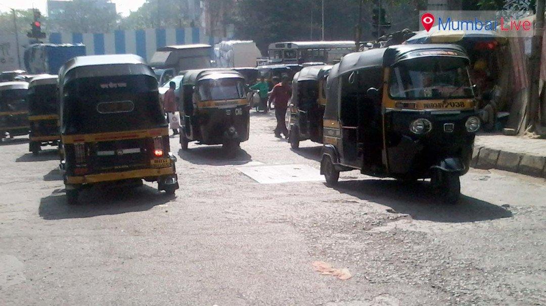 Traffic jams due to Metro work