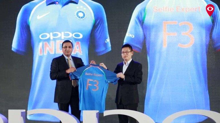 नई जर्सी में भारतीय क्रिकेट टीम