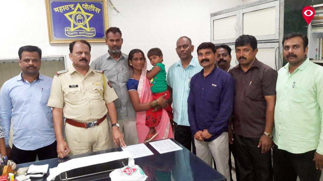 पुलिस को मिली बड़ी कामयाबी, चार साल की बच्ची को चंगुल से बचाया