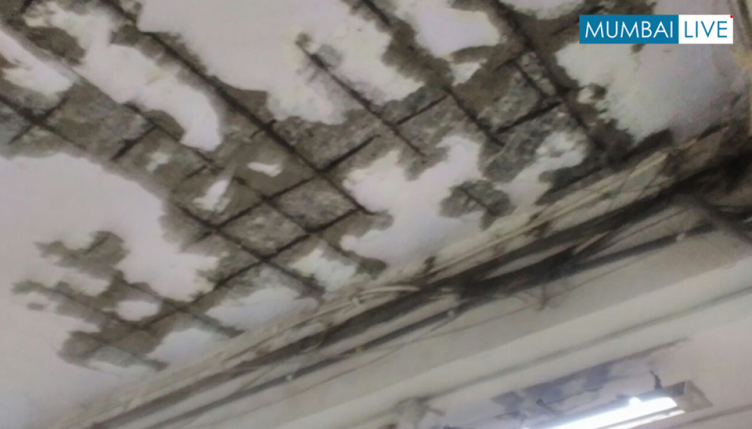 Police Station roof in shaky condition
