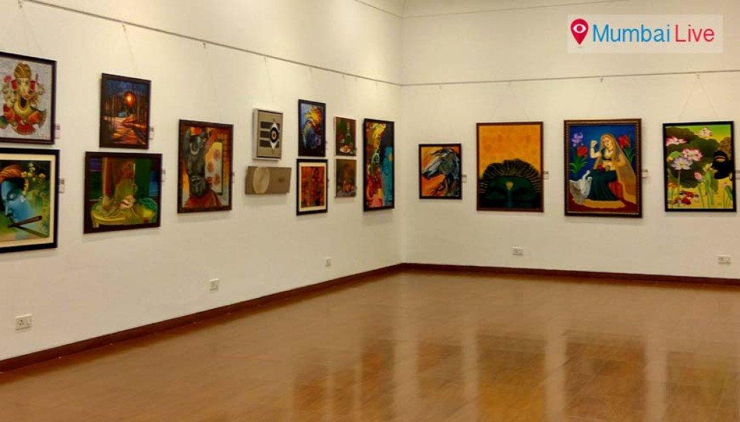 Group exhibition at Nehru Centre