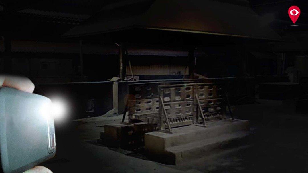 यहां मोबाइल की रोशनी में किया जाता है अंतिम संस्कार