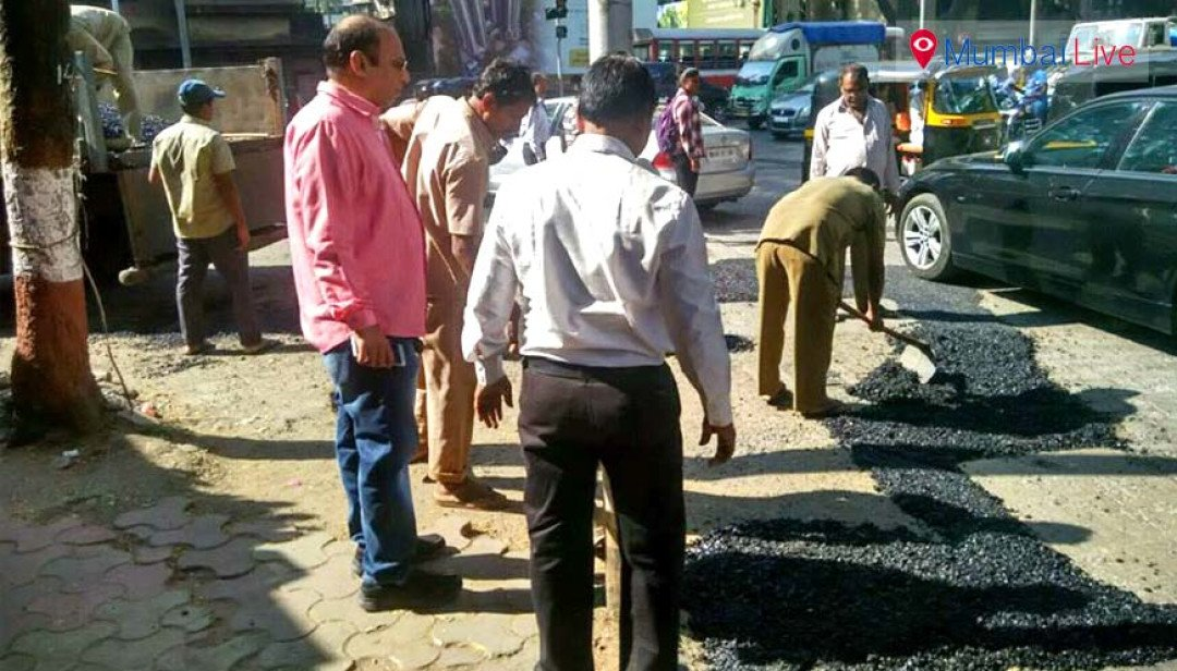 Fixing the potholes!