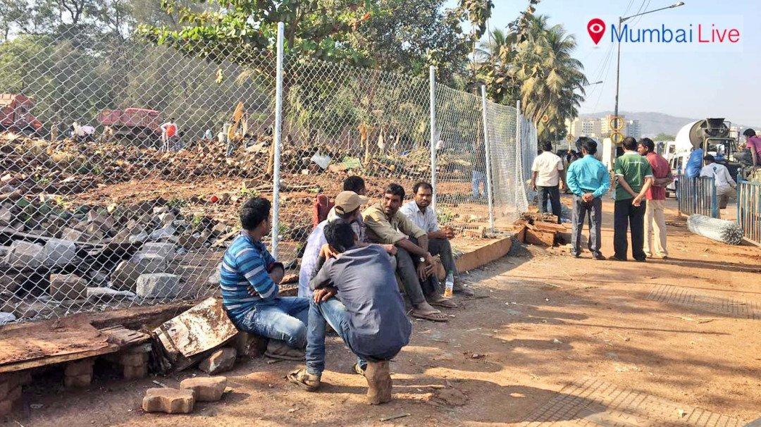 BMC brings land mafia on road