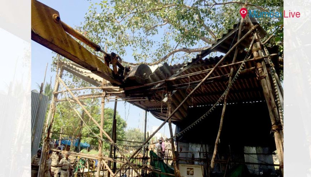 BMC razes illegal construction