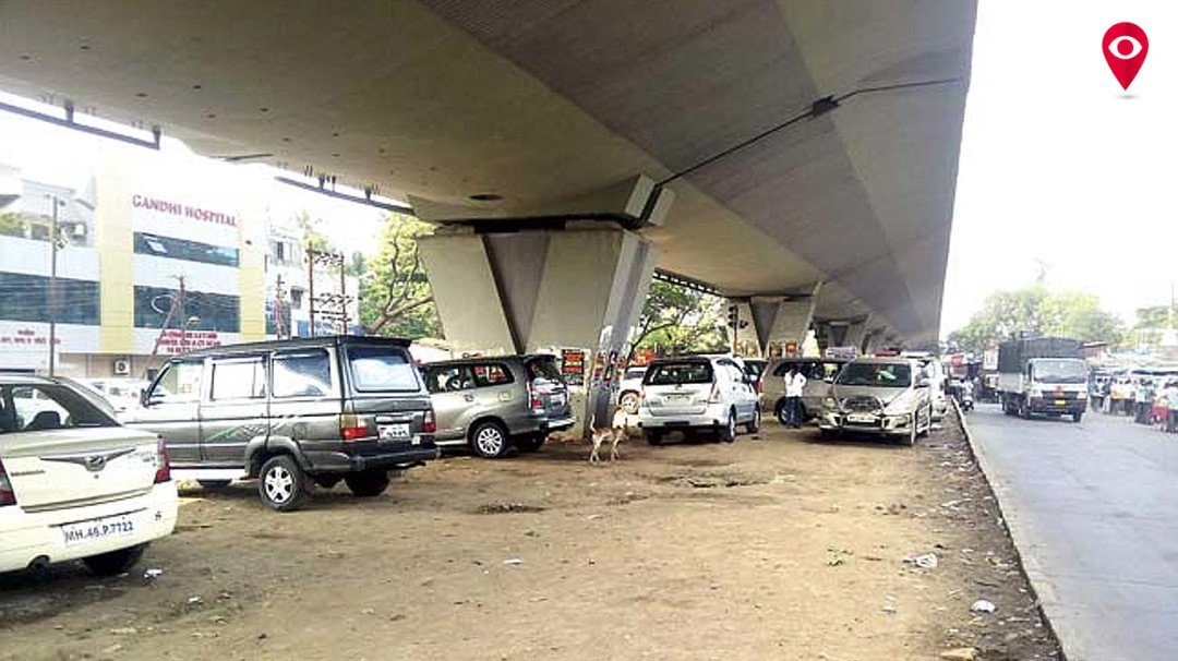 Grabbing a parking spot under a flyover? Not anymore!