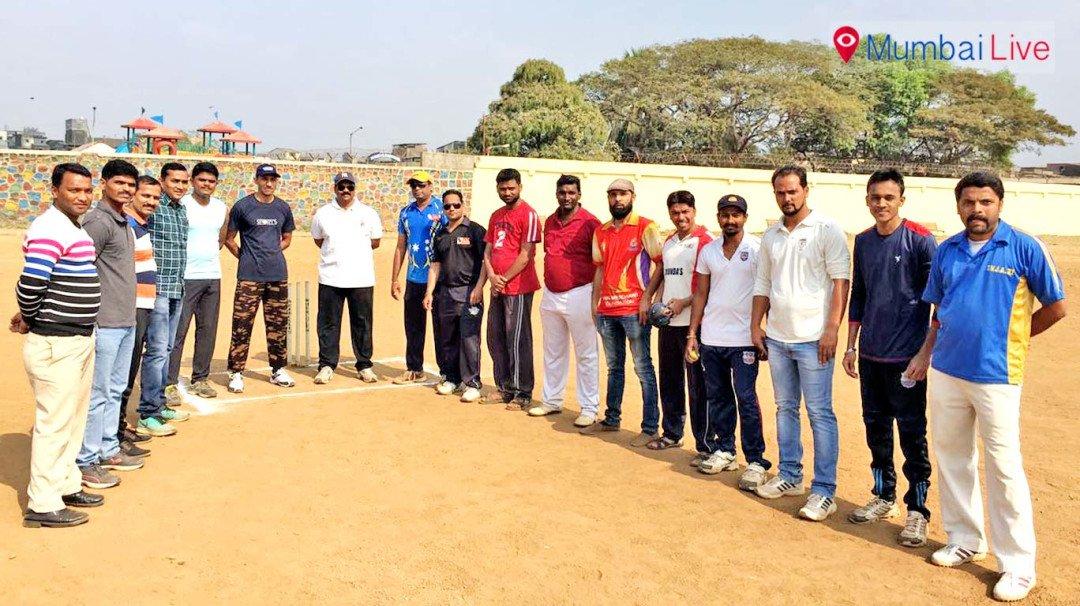 Cricket match between police and journos