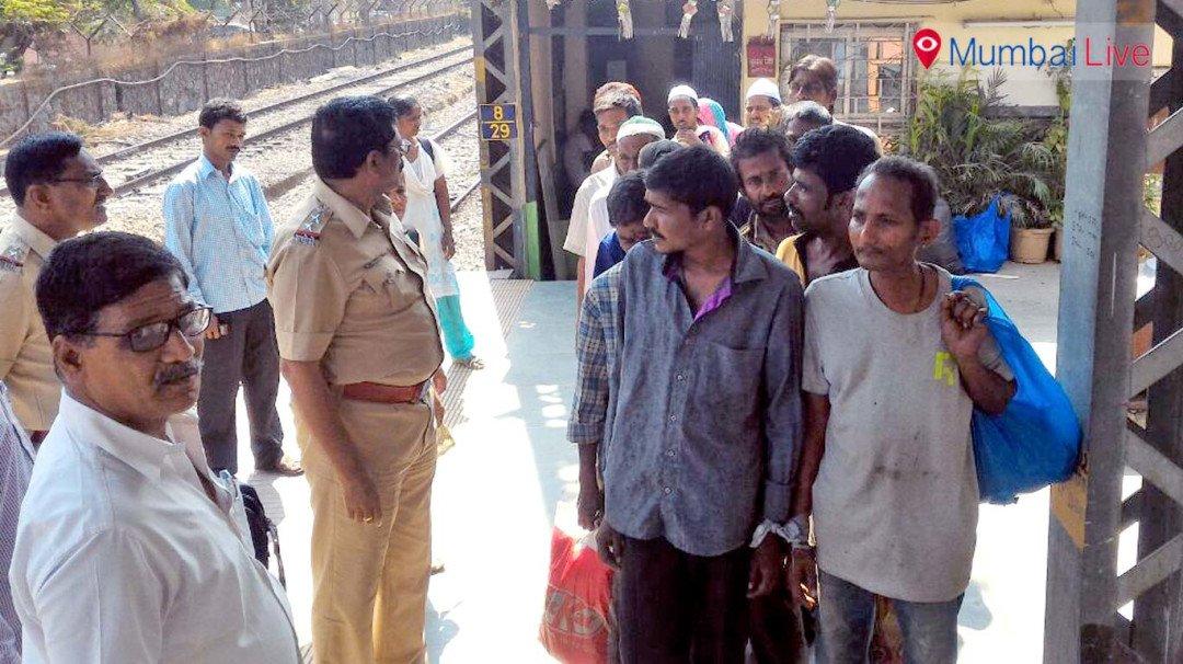 सुरक्षा को लेकर भिखारियों पर कार्रवाई