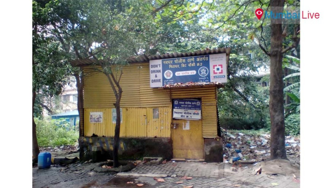 Police chowky in tatters