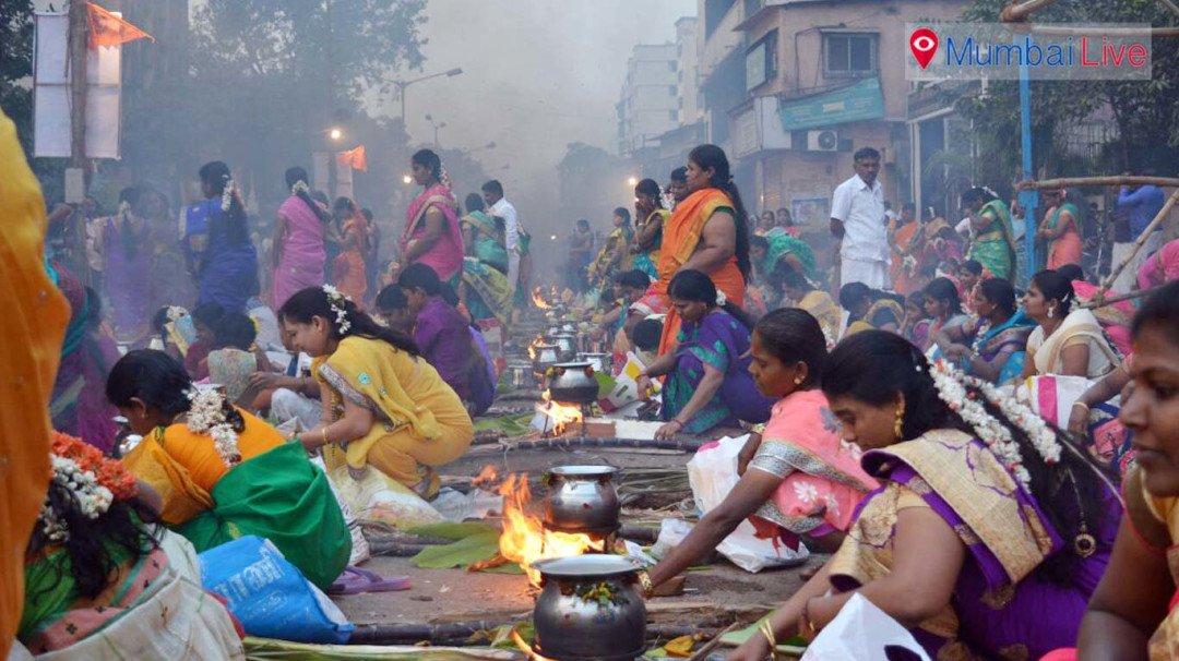 धारावी में उत्साह के साथ मनाया गया पोंगल