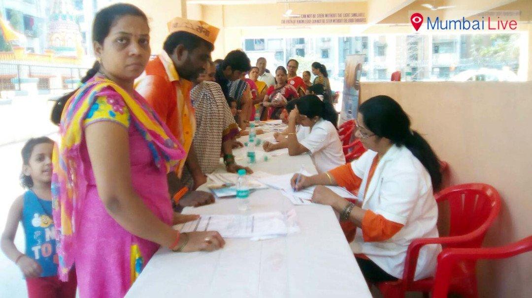 Satamkar organizes Sujok health camp