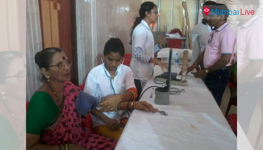 Physiotherapy camp at Pratiksha Nagar