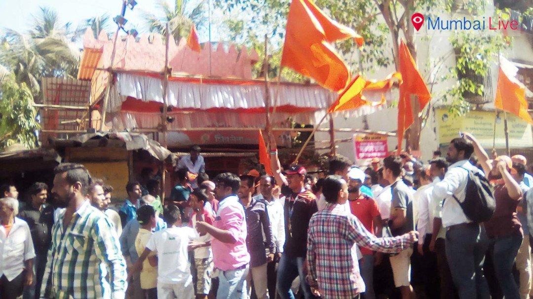 Shiv Sena wins in Prateeksha Nagar