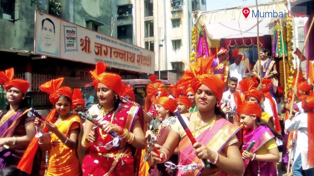 Pratiksha Nagar's mesmerising shobha yatra