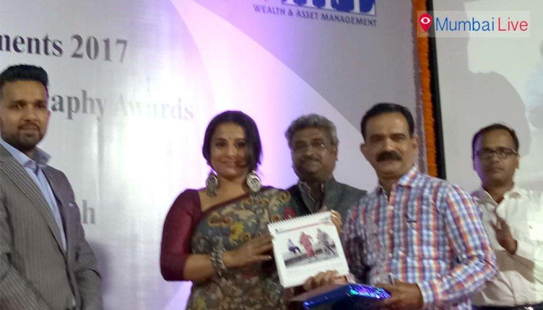 Vidya Balan launches Photographers' Calendar