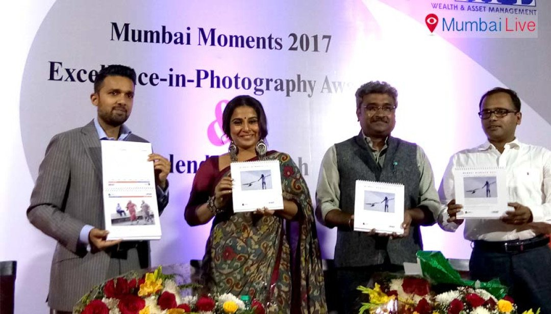 Vidya Balan launches Photographers' Calendar