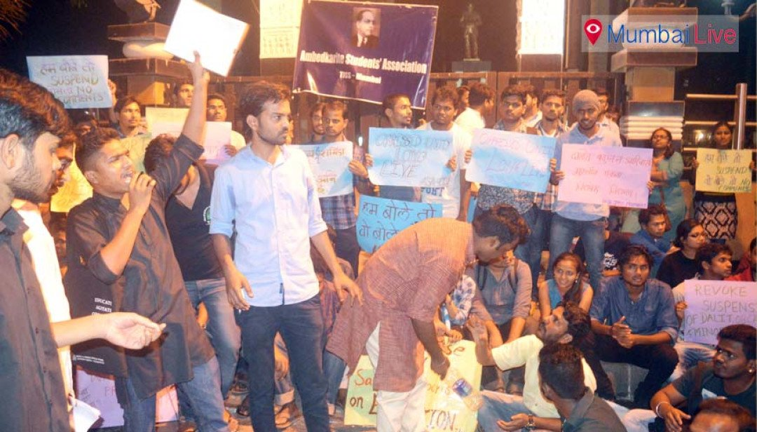 TISS students support JNU rebels