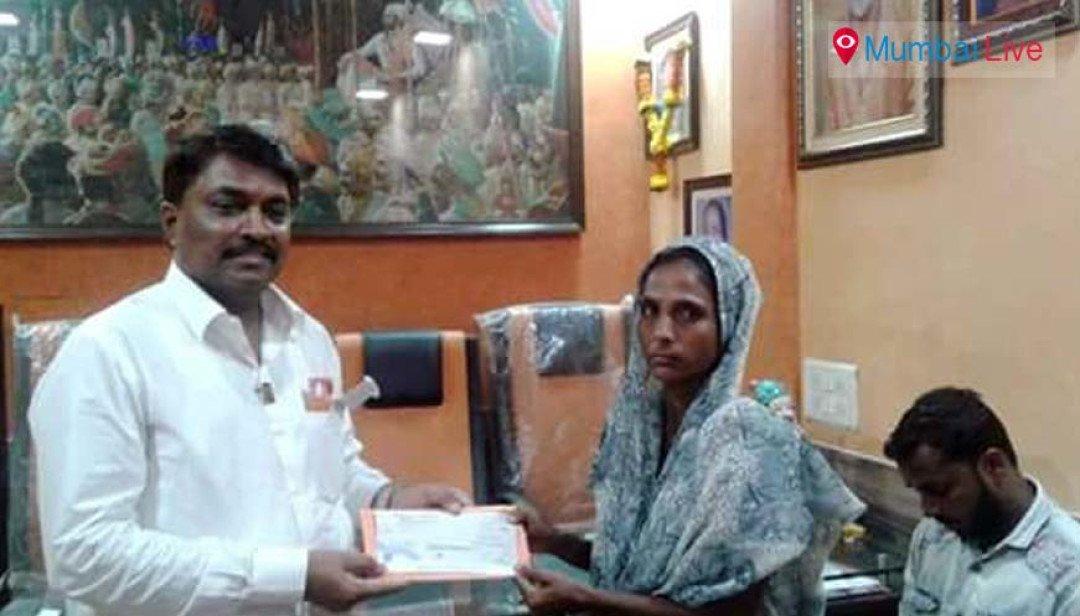 Shiv sena helps ineligible residents