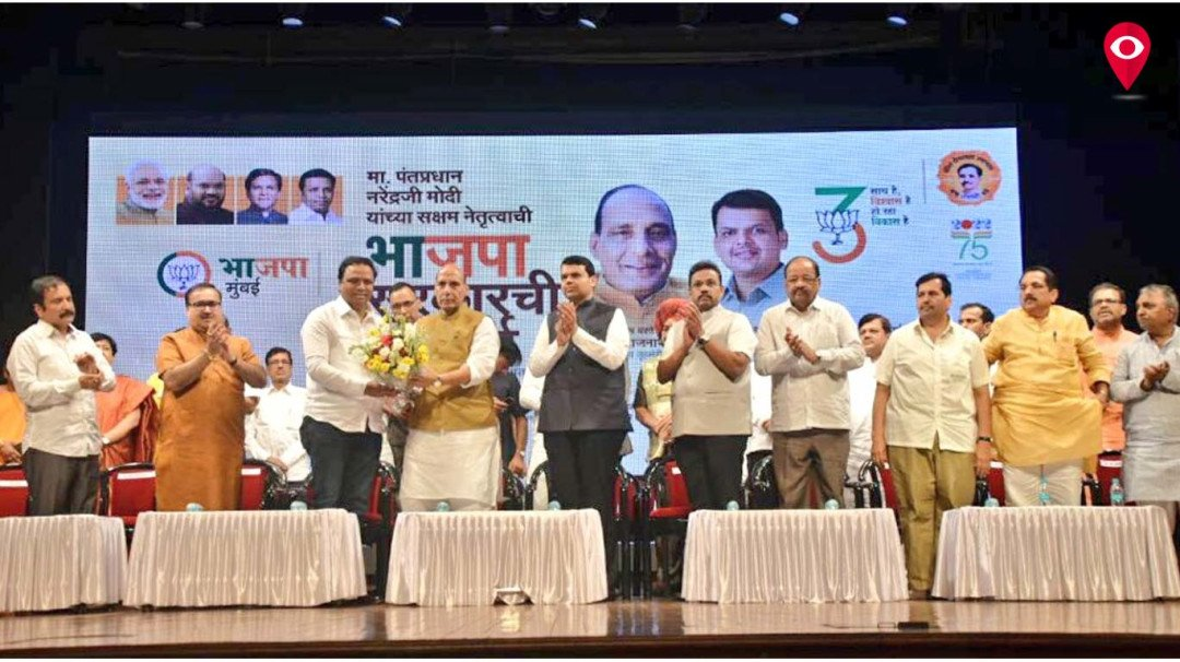 BJP government is with farmers, says Rajnath Singh