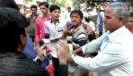 गुंडों का पत्रकारों पर हमला