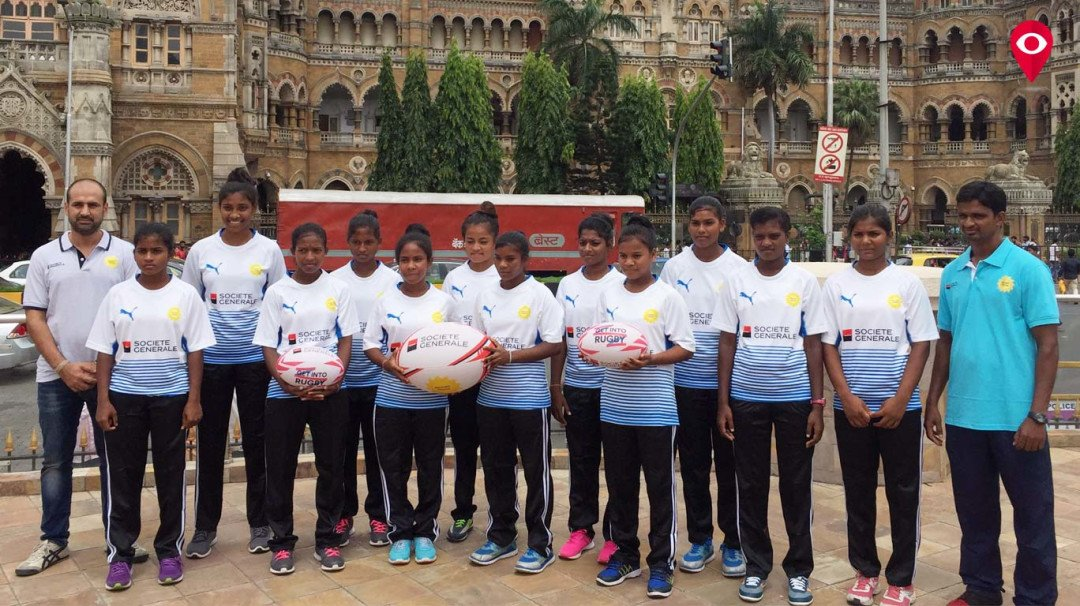 Mumbai's Gargi Walekar participates in Paris World Rugby Championship