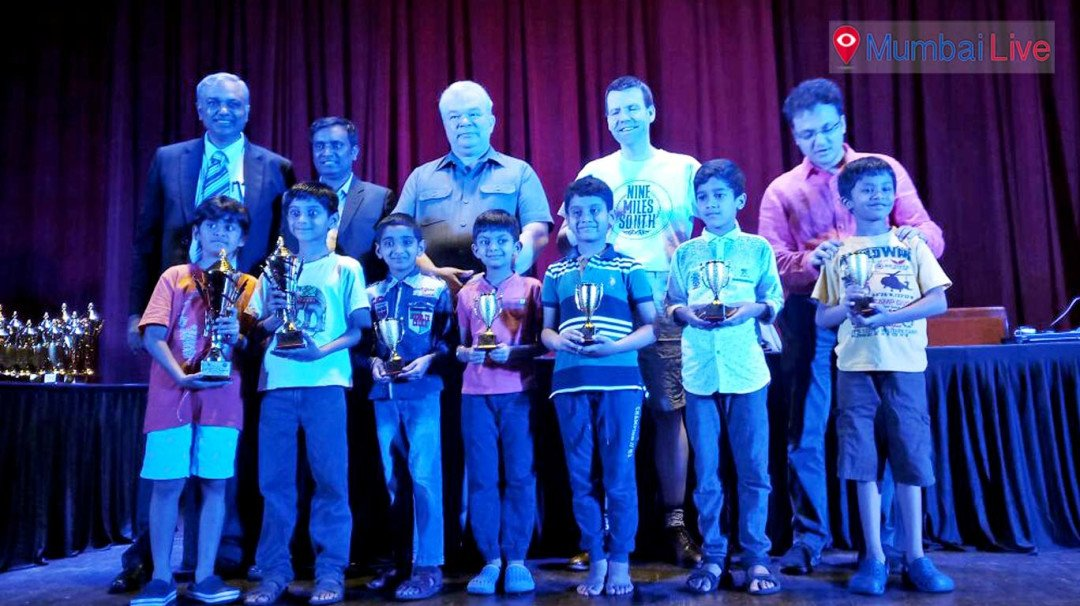 Vansh Agarwal wins Rapid Chess event