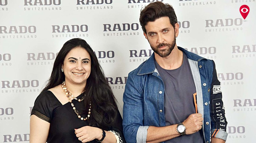 Rado launches the sports collection in Mumbai with Hrithik Roshan