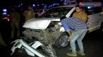 Accident near Western Express highway metro station