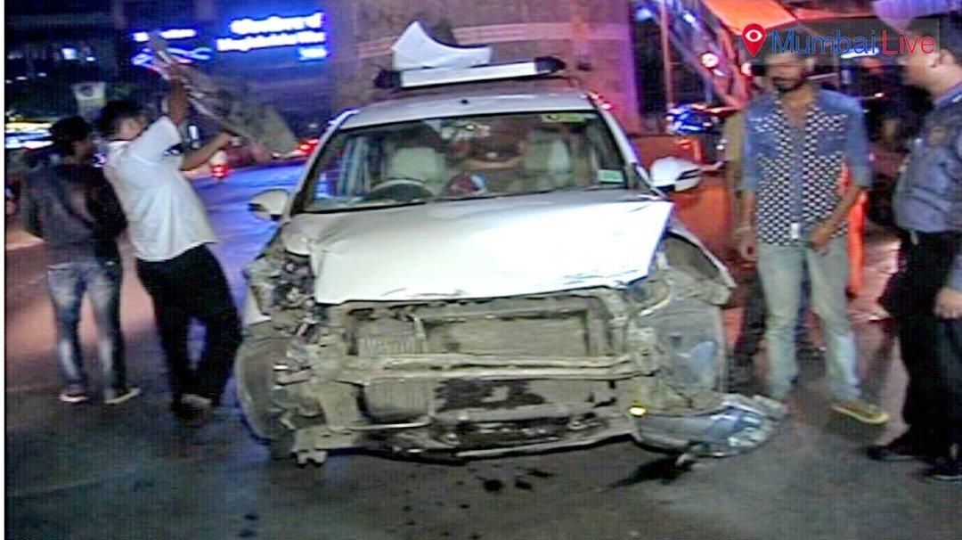 वेस्टर्न एक्स्प्रेस हायवेवर भीषण अपघात