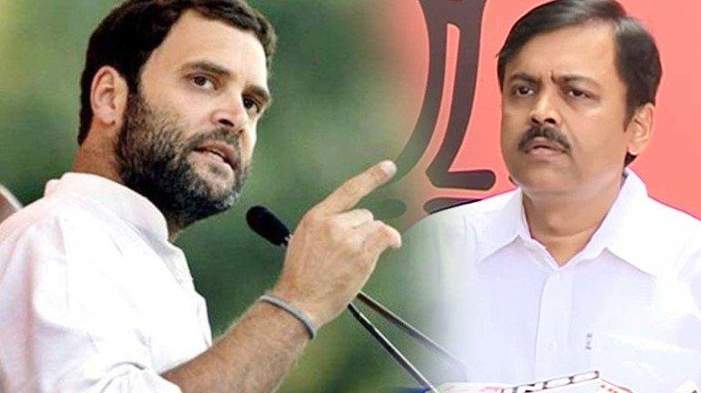 कांग्रेस ने की बीजेपी प्रवक्ता के खिलाफ शिकायत